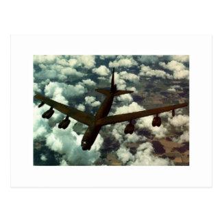 B-52 Bomber Postcard