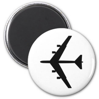 B-52 Silhouette Magnet