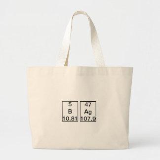 B Ag Chemical Element Bag