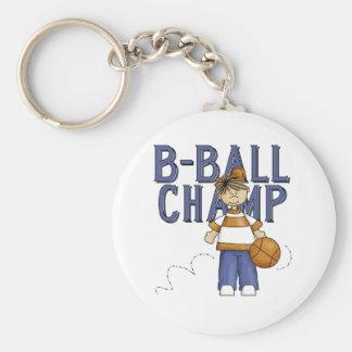B-Ball Champ Keychains