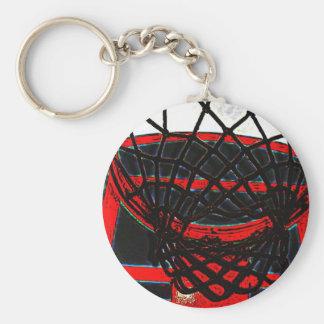B-ball hoop keychain