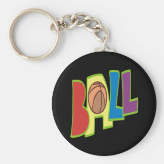 B Ball Keychain
