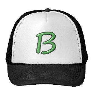 B BB BBB ALPHA ALPHABETS JEWELS GIFTS CAP