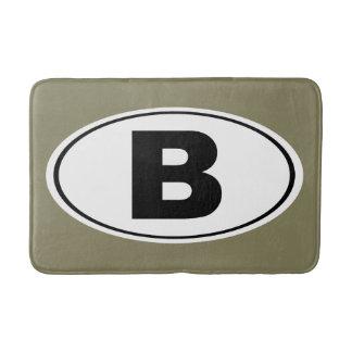 B Bellingham Washington Bath Mat