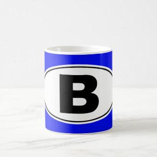 B Bellingham Washington Coffee Mug