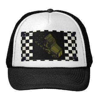 b Black Gold Space Truckin' 18 Wheeler from MARS Hats
