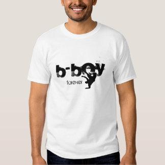 b-boy forever t-shirt