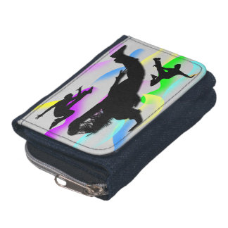 B-Boying Denim Coin Purse Wallet