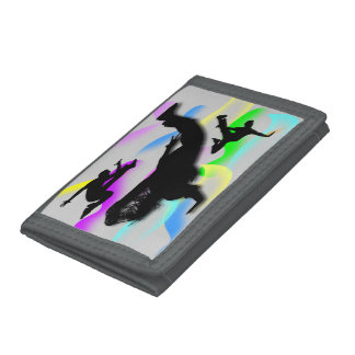 B-Boying Tri-Fold Wallet