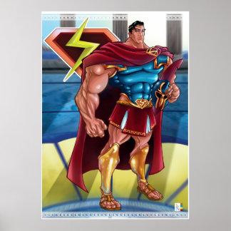 B C Hero Print
