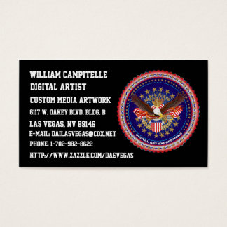 B-card-mine-2, William Campitelle Business Card