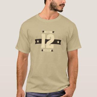 B-day-12-(Cream&Choco) T-Shirt