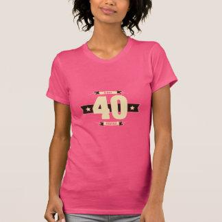 B-day-40-(Cream&Choco) T-Shirt