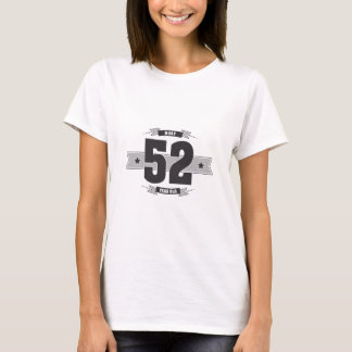 B-day 52 (Dark&Lightgrey) T-Shirt