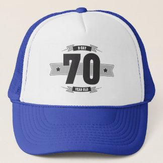 B-day 70 (Dark&Lightgrey) Trucker Hat