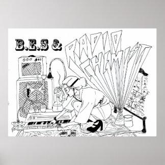 B.E.S & Radio Chemist poster