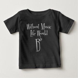 B Flat Baby Dark Jersey T-Shirt