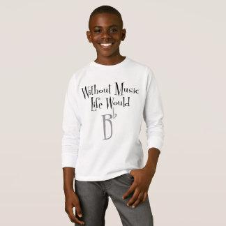 B Flat Boy's Long Sleeve T-Shirt