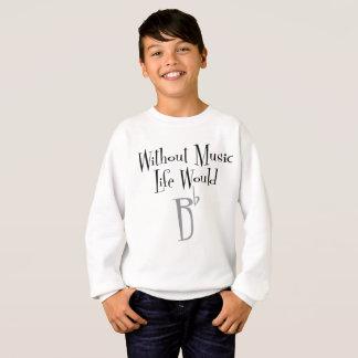 B Flat Boy's Sweatshirt