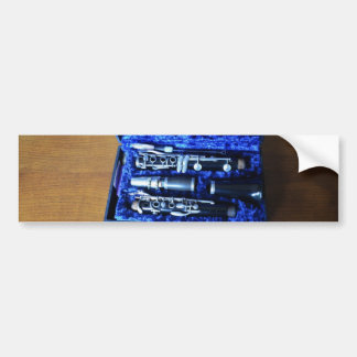 B Flat Clarinet Bumper Sticker