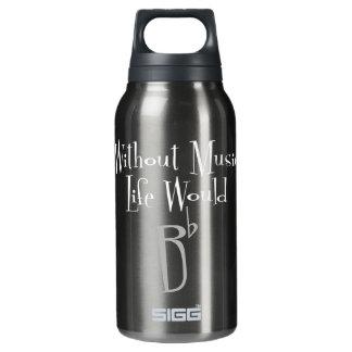 B Flat Dark Sigg Hot & Cold Bottle