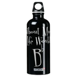 B Flat Dark Sigg Water Bottle SIGG Traveller 0.6L Water Bottle