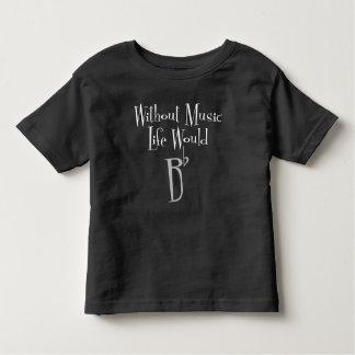 B Flat Toddler Dark Jersey T-Shirt