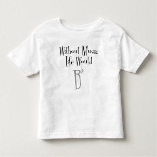 B Flat Toddler Jersey T-Shirt