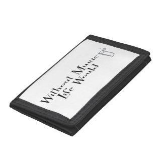 B Flat Tri-fold Wallet