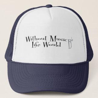 B Flat Trucker Hat