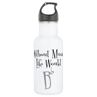 B Flat Water Bottle