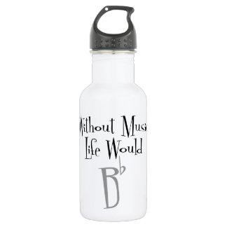 B Flat Water Bottle 532 Ml Water Bottle
