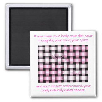 b...forever...aware...breast cancer square magnet