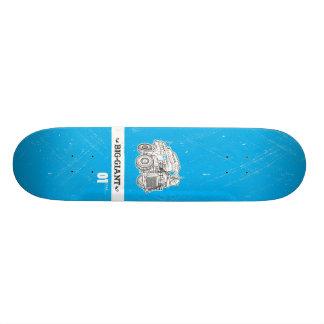 B-G_Deck_Cyan1 Skate Board