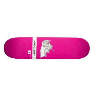B-G_Deck_Magenta2 19.7 Cm Skateboard Deck