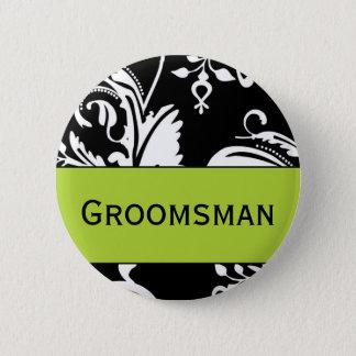 B&G Groomsman Button