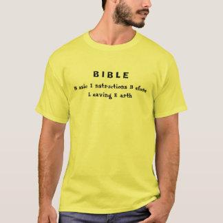 B I B L E, B asic I nstructions B efore L eavin... T-Shirt