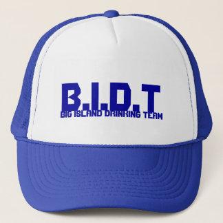 B.I.D.T, BIG ISLAND DRINKING TEAM TRUCKER HAT