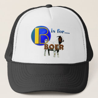 B is Fo rBOER - GOAT GIFTS Trucker Hat