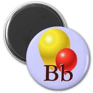 B is for Balloons Magnet