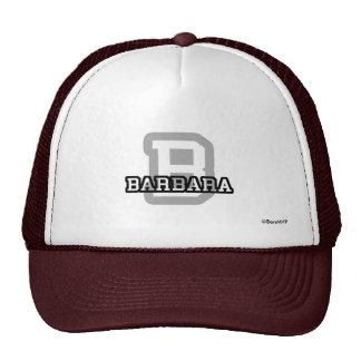 B is for Barbara Cap