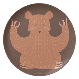 B is for Bear Dinner Plates