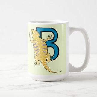 B is for Bearded Dragon Coffee Mug