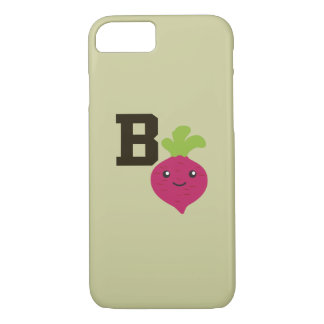 B is for Beet iPhone 8/7 Case