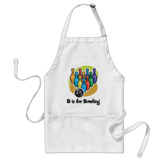 B is for Bowling Aprons