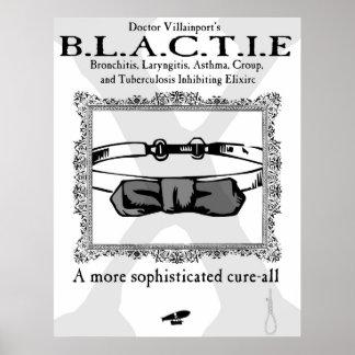 B.L.A.C. T.I.E. Advertisement Poster
