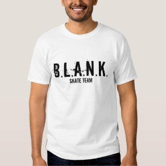 B.L.A.N.K., SKATE TEAM T SHIRT