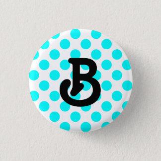 B Monogram Button