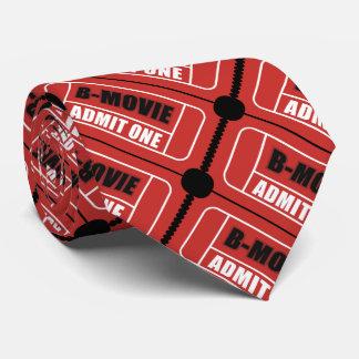 B-Movie Ticket Tie
