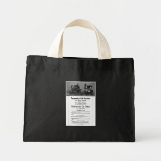 B+O Railroad Taxameter Cab Service Tote Bag